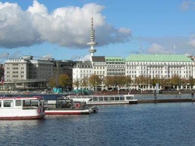 Alster Hamburg boat trip