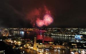 Hamburg Port Anniversary Fireworks