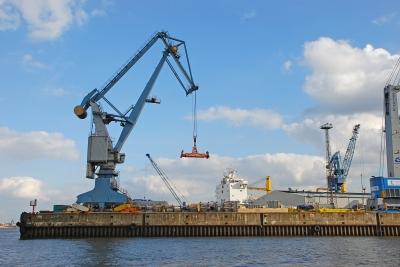 Max Brauer Kai Hamburg Harbor