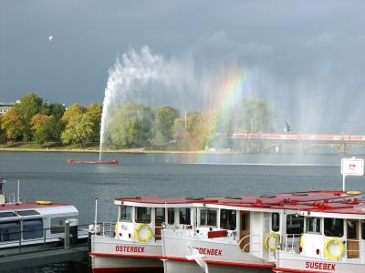 Alster Fountain Hamburg